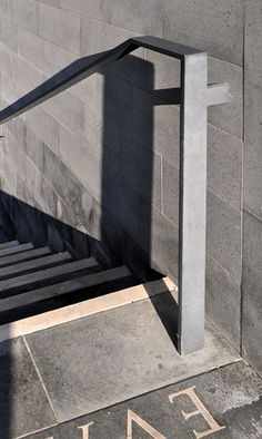 Exterior Stair Railing  San Michele Cemetery Extension - Venice (David Chipperfield)   Flickr - Photo Sharing!
