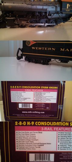 Locomotives 122591: Mth O Scale 20-3097-1 Consolidation Steam Engine With Protosound 2.0 2- 2880H-9 -> BUY IT NOW ONLY: $525.88 on eBay!