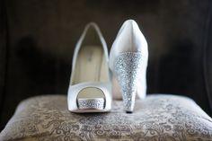 Traditionally Elegant Wedding with a New Orleans Flair in Atlanta, GA - Munaluchi Bridal Magazine Photographer:http://www.sophia-barrett.com/ #Theshoes #bridalshoes