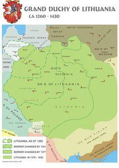 Grand Duchy of Lithuania Circa. 1260-1430