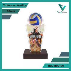 Diseñamos y Personalizamos sus Trofeos en Acrilico Para Todos los Deportes. Despachos a Todo el Pais. Ref. 001M1 Alt. 24cms. Su Cotización en 20 Min. 20 Min, Volleyball, Sports