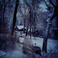 Winter in Tuxedo Park, NY