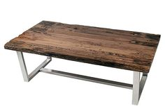 THE INDUSTRIAL HOME  Loft Coffee Table  SIDNEY MARCUS