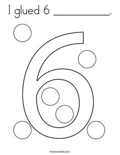 Color the Number 8 Coloring Page - Twisty Noodle ...