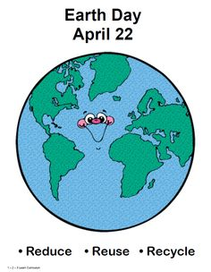 I have added a Earth Day Person craft to 1 - 2 - 3 Learn Curriculum - under Holidays.  There is also Earth Day Certificate  File folder game  Graphing activity  Poster  Songs  Help Recycle worksheet  My recycle book  What is Earth Day?  Located under the Holiday's link. :)  Thank you for viewing!  Jean  1 - 2 - 3 Learn Curriculum