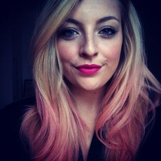 Kevin Murphy Color Bug in Pink, Nars Lipstick in Schiap, Lashes Sephora in Flutter