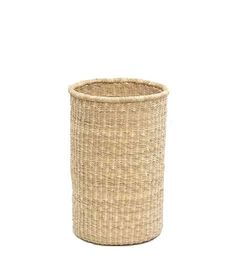 Straw Wastepaper Basket - Brook Farm General Store