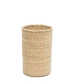 Straw Wastepaper Basket - Brook Farm General Store