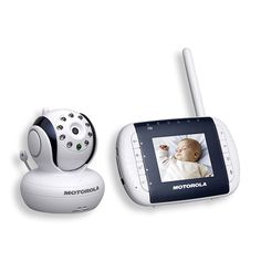 Get peace of mind when you use the Motorola digital video baby monitor.
