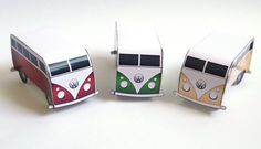 Printable Retro Camper Van Place Cards  Wedding by STNstationery, £5.00  ~~~~ Use as place cards or even as the wedding invite! Or save the date. Don't really know the differences haha