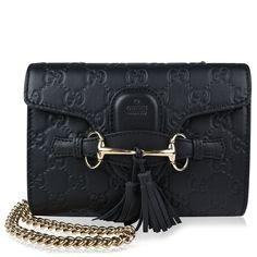 Gucci | Emily GG Leather Small Chain Bag
