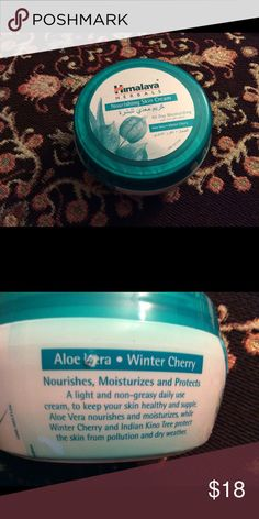 Aloe Vera Winter Cherry Moisturizer Brand new, sealed jar! Light weight, NOT greasy daily moisturizer. Bought in UAE ! See actual brand Clinique Makeup