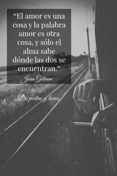 El amor es una cosa y la palabra amor es otra #frases
