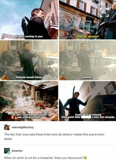 This was the most hawkeye moment in the movie to me