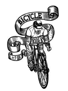 Bicycle Rider design | Oscar Postigo