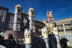 Adventures in Sintra, Portugal. I completely fell in love with Pena Palace!