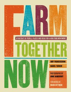 With interest in home gardening at an all-time high and concerns about food production and safety making headlines, Farm Together Now explores the current state of grassroots farming in the U.S. Part oral history and part treatise on food politics, this fascinating project is an introduction to the many individuals who are producing sustainable food, challenging public policy, and developing community organizing efforts. Will educate, inspire, and cultivate a new wave of modern agrarians.