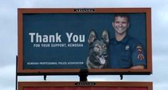 Community outraged by Kenosha billboard featuring killer cop's beaming face | Officer Pablo Torres shot Aaron  Siler on the day he returned to service after an administrative leave for shooting a 66-year old Vietnam vet , Terry Knight