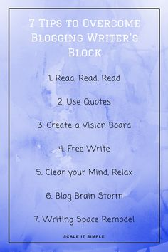 WRITER'S BLOCK? Me too! Don't we all get it sometimes, as bloggers, writers. It's NaNoWriMo and there's nothing worse then getting stuck so check out this post full of useful tips to get you inspired and past that writer's block!