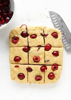 Almond Cherry Scones...