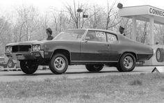 Buick Skylark at the Connecticut Dragway.