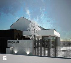 projekt domu jednorodzinnego BE - Domy, styl nowoczesny - zdjęcie od Otwarte Studio Sztuka
