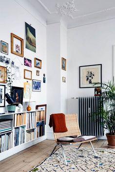 'Gå aldrig ned på tæpper' – siger Karen Maj Kornum, der bor med et fantastisk miks af design og loppefund.