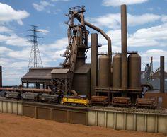 steel mill model railroads | Sneak Peek- New Steel Mill Modeling book