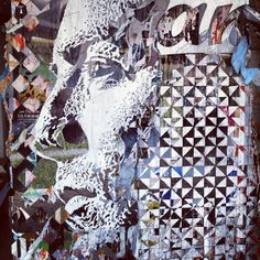 Vhils - Substraction Street artist