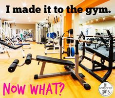 Made it to the gym with no clue what to do? The workout strategy that will never leave you stumped again.