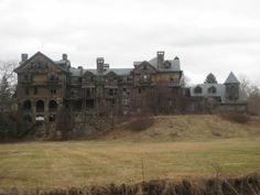 The former Bennett College in Millbrook NY.  How does an entire college get abandoned?