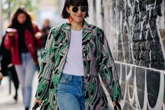 London Fashion Week's Street Style Stars Are Here to Show You How to Dress For Fall Photos | W Magazine