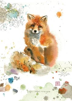 BugArt Critters ~ Red Fox. CRITTERS *NEW* Designed by Jane Crowther.