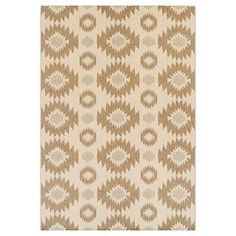 Outdoor Patio Rug - Aztec 5x7 - Brought to you by Avarsha.com