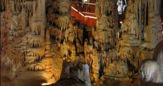 A cave with stalactites and stalagmites, and a museum with findings from the life of the 700.000 years old First-Man that was found here...