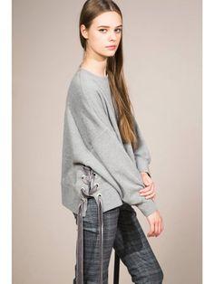 サイドレースアップトレーナー(プルオーバー)|Mila Owen(ミラ オーウェン)|ファッション通販|ウサギオンライン公式通販サイト