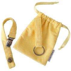 Yndlingsknippet - Knippesett i fargen Banana (gul). Nydelig gave til babyshower, barnedåp eller navnefest. Passer både til gutt og jente!