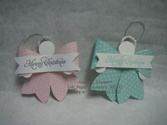 September 13, 2013  Fall Fest Stampin' Event | Adorable Angels ~ Gift Bow Bigz L Die:  Item # 129977, 2013 Holiday Catalog