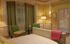 Schlafzimmer Inspiration Serena Van Der Woodsen Gossip Girl Einrichtung  Gruen Gelb