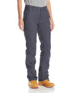 Amazon.com: Carhartt Women's Original Fit Fleece Lined Crawford Pant: Clothing