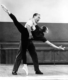 George Balanchine and Allegra Kent