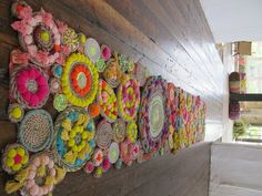 UPDATE: This giveaway is now closed. i have another gorgeous piece from our summer store displays to give away! this amazing rope swirl tapestry was hand-made by our talented display team using rope, various brightly colored strings and pom poms and tassels inspired by india. hang it on your wall, use it as a carpet …