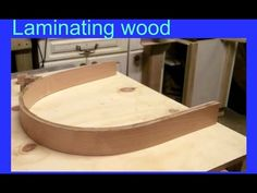 Laminating wood-MDF.Creating a dust extractor hood for disc sander Pt 2 - YouTube