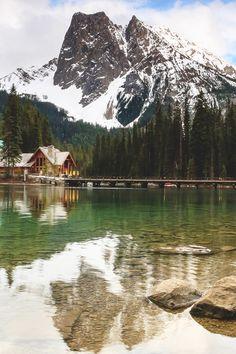 Emerald Lake, Canada by James Bian