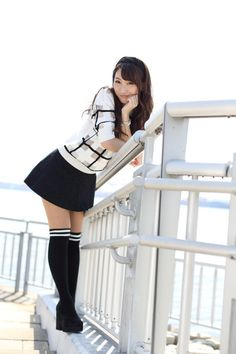 Cute Asian Girls, Cute Girls, Emo Girls, Beautiful Japanese Girl, Beautiful Women, School Girl Dress, Business Outfits Women, Young Girl Fashion, Girl Outfits
