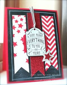 Carrie Rhoades: Carrie Stamps – Happy Everything Chalk Board Card - 9/17/14 (Pin#1: Patriotic/ Military.  Pin+: Banners...)