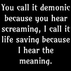 screamo band quotes about life - Google Search