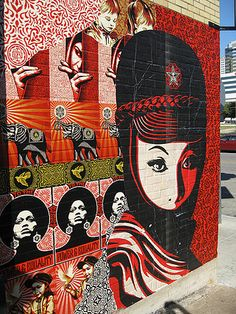 Shepard Fairey This is Art, not Mine nor yours, but It deserves to be seen...by everyone...Share it...