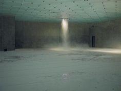 Pierre Huyghe, Installation view, Centre Pompidou, 2013-2014. (Thank you John). http://www.mariangoodman.com/artists/pierre-huyghe/  http://en.wikipedia.org/wiki/Pierre_Huyghe