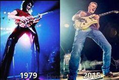 Eddie Van Halen ❤️ he's still awesome as ever!!!